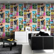 Star Wars Film Movie Pop Art Collage Wallpaper