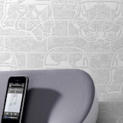 Star Wars Storm Trooper Paintable Brick Effect Wallpaper