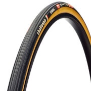 Challenge Strada Tubular Road Tyre - Black/Tan - 700c x 25mm