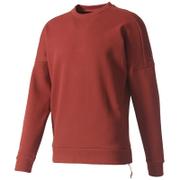 adidas Men's ZNE Crew Sweatshirt - Mystery Red