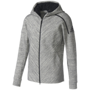 adidas Men's ZNE Travel Hoody - Storm Heather