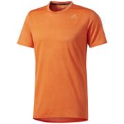 adidas Men's Supernova Running T-Shirt - Energy Orange