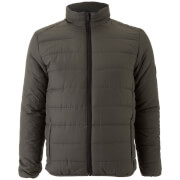 Brave Soul Men's Moritz Padded Jacket - Charcoal