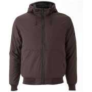 Brave Soul Men's Plutonium Hooded Jacket - Burgundy