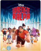 WreckIt Ralph 3D (Includes 2D Version)  Zavvi Exclusive Lenticular Edition Steelbook