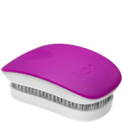 ikoo Pocket Hair Brush  White  Sugar Plum