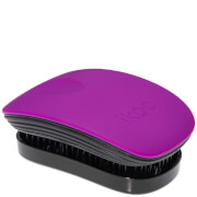 ikoo Pocket Hair Brush - Black - Suger Plum