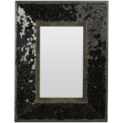 Opulence Mosaic Photo Frame 4 x 6 - Black
