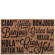 Premier Housewares Greetings Doormat