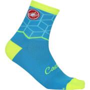 Castelli Women's Vertice Socks - Caribbean