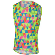 Castelli Pro Mesh Sleeveless Base Layer - Multicolour Fluo