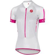 Castelli Women's Climbers Jersey - White/Raspberry