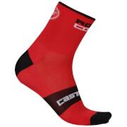 Castelli Rosso Corsa 6 Socks - Red