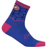 Castelli Women's Vertice Socks - Matte Blue