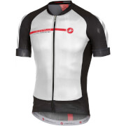 Castelli Aero Race 5.1 Jersey - White/Black/Red