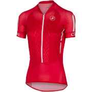 Castelli Women's Climbers Jersey - Red/White/Black