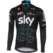 Team Sky Long Sleeve Thermal Jersey - Black