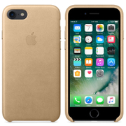 Apple iPhone 7 Leather Case - Tan