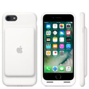 Image of Apple iPhone 7 Smart Battery Case - White