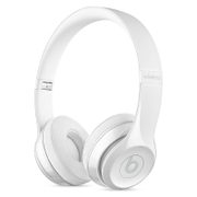 Beats by Dr. Dre Solo 3 Wireless Bluetooth On-Ear Headphones - Gloss White