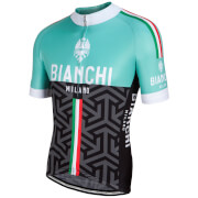 Bianchi Pontesei Short Sleeve Jersey - Green