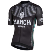 Bianchi Ceresole Short Sleeve Jersey - Black