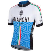 Bianchi Pontesei Short Sleeve Jersey - Blue