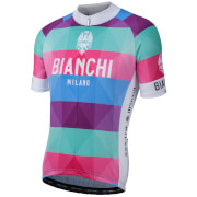 Bianchi Aviolo Short Sleeve Jersey - Stripe