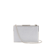Aspinal of London Womens Scarlett Box Clutch Bag  Multi Glitter