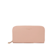 Aspinal of London Womens Continental Clutch Wallet  Peach Gold