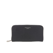 Aspinal of London Women's Continental Clutch Wallet - Black