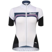 Santini Women's Queen of the Mountains Jersey - White