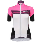 Santini Women's Queen of the Mountains Jersey - Pink