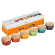 Le Creuset Stoneware Rainbow Ramekins (Set of 6)