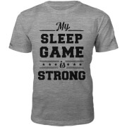 Männer Sleep Game T-Shirt - Grau