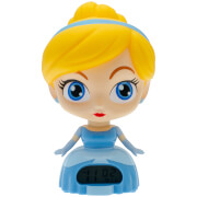Image of BulbBotz Disney Princess Cinderella Clock