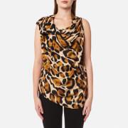 Vivienne Westwood Anglomania Women's Due Blouse - Leopard - UK 10/EU 42 - Multi