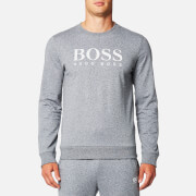 BOSS Hugo Boss Men's Large Logo Sweatshirt - Charcoal
