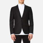 HUGO Men's Awerd 2 Button Jacket - Black - EU 50 - Black
