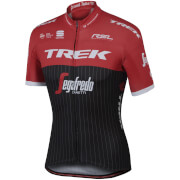 Sportful Trek-Segafredo BodyFit Pro Team Short Sleeve Jersey - Black/Red/White