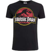 T-Shirt Logo Classique Jurassic Park -Noir