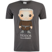 Game of Thrones Männer Hodor Funko T-Shirt - Grau
