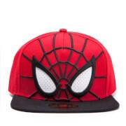 Gorra Marvel Spider-Man Ojos 3D - Rojo