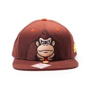 Nintendo Super Mario Donkey Kong Snapback Cap - Brown