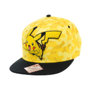 Casquette Pokémon Pikachu -Camouflage Jaune