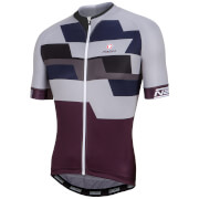 Nalini Cervino Short Sleeve Jersey - Black/Grey