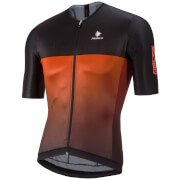 Nalini Black Ti Short Sleeve Jersey - Red/Black