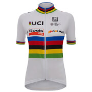 Santini Team Boels Dolmans 17 World Champion Jersey - White