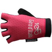 Santini Giro d'Italia 2017 Stage 21 Monza - Milan Race Gloves - Pink