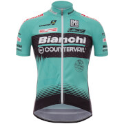 Santini TX Active Bianchi 17 Jersey - Blue